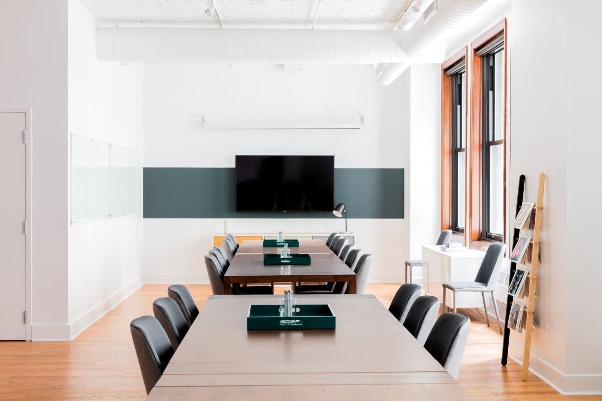 corporate-meeting space at 125 S. Clark ,Chicago