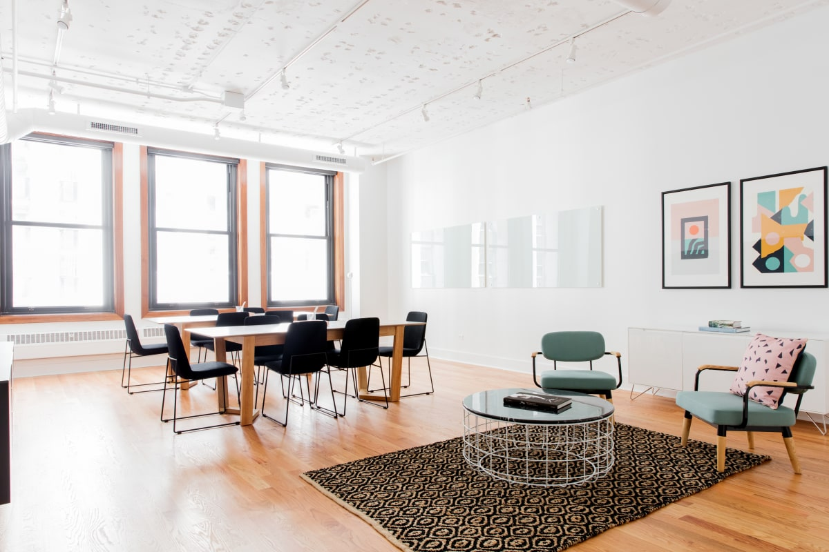 interview space at 125 S. Clark ,Chicago