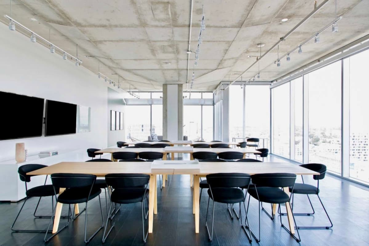 classroom space at 134 Peter St. ,Toronto