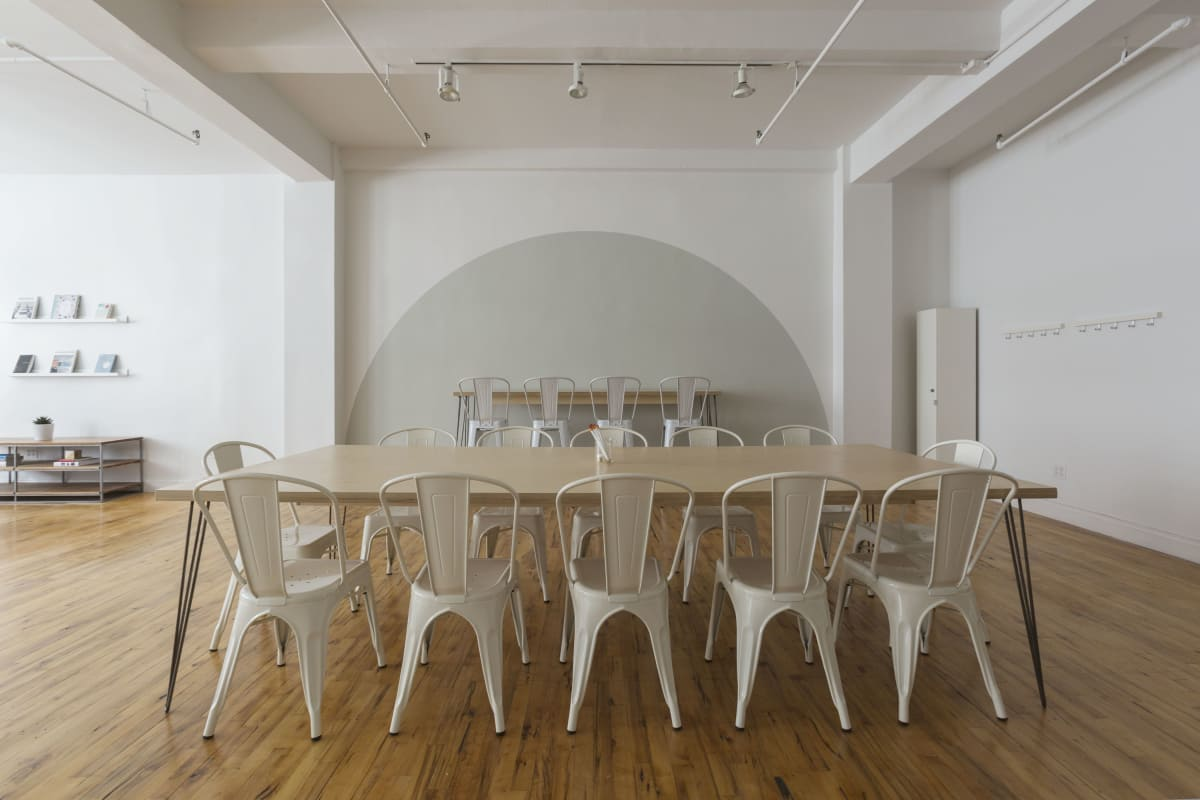 workshop space at 135 West 29th Street ,New York City