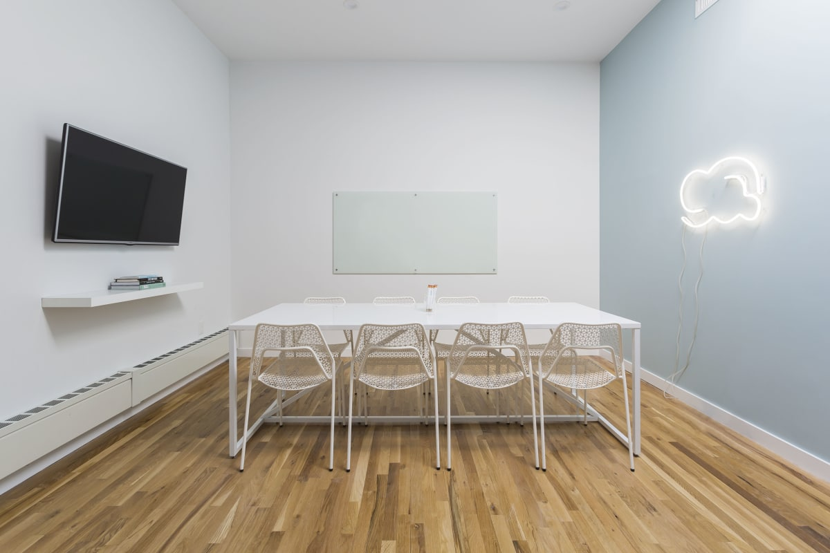 interview space at 138 Wooster Street ,New York City