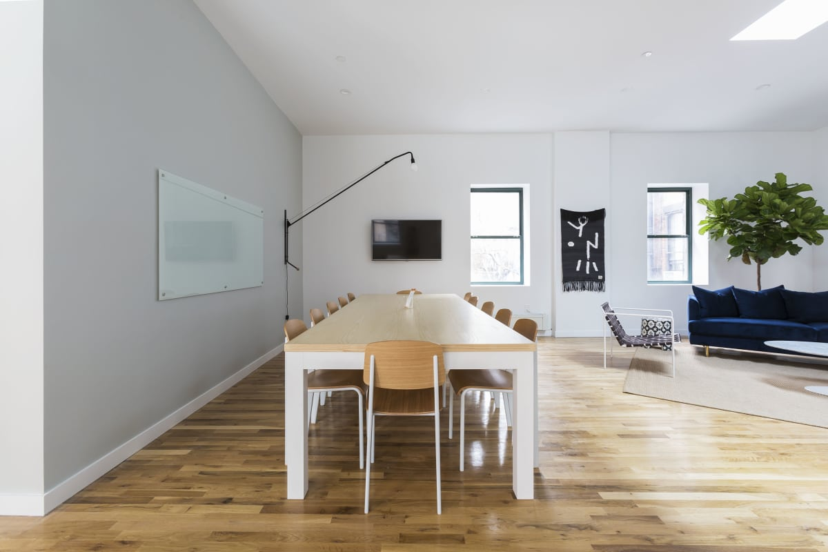 workshop space at 138 Wooster Street ,New York City