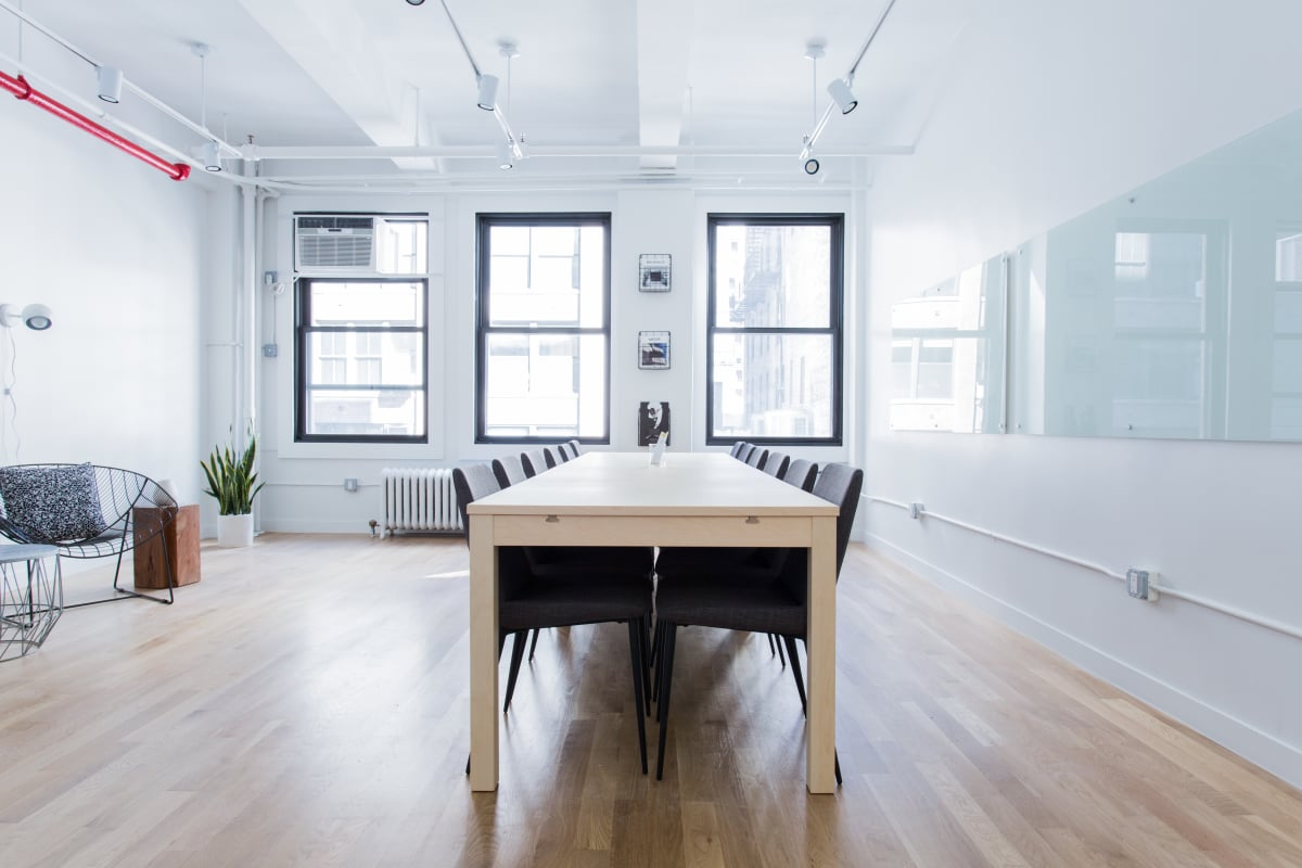 collaboration space at 150 West 28th Street ,New York City