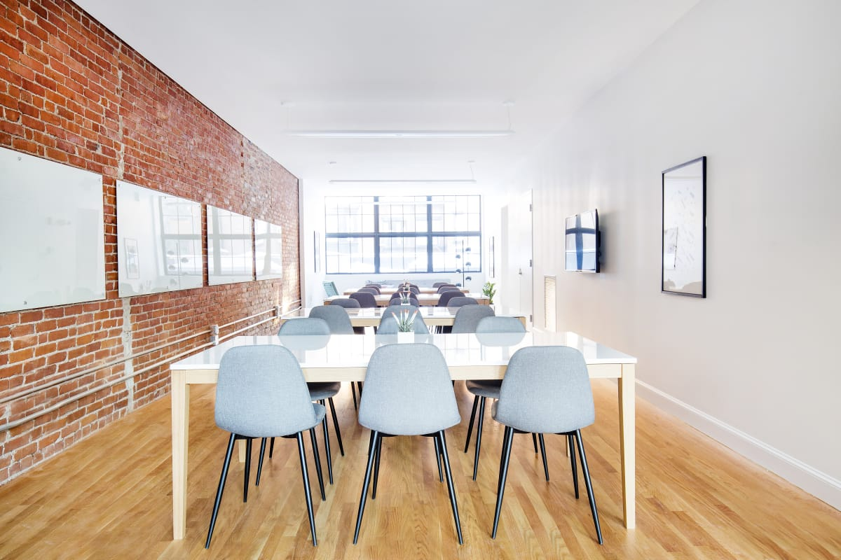 presentation space at 171 Newbury Street ,Boston