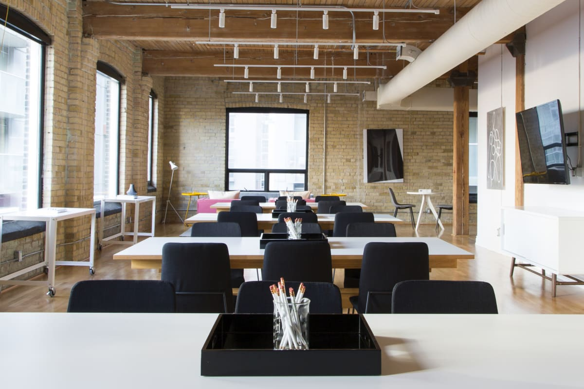 event space at 200 Adelaide St. West ,Toronto