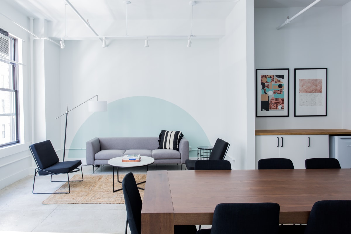 baby-shower space at 213 West 35th Street ,New York City