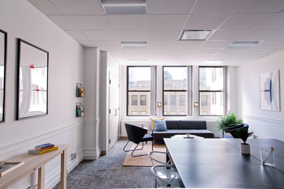 collaboration space at 24 School Street ,Boston