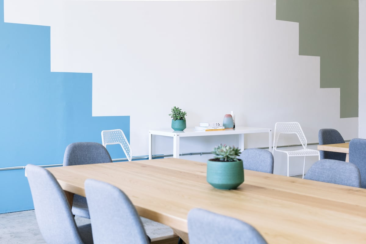 collaboration space at 309 East 8th St. ,Los Angeles