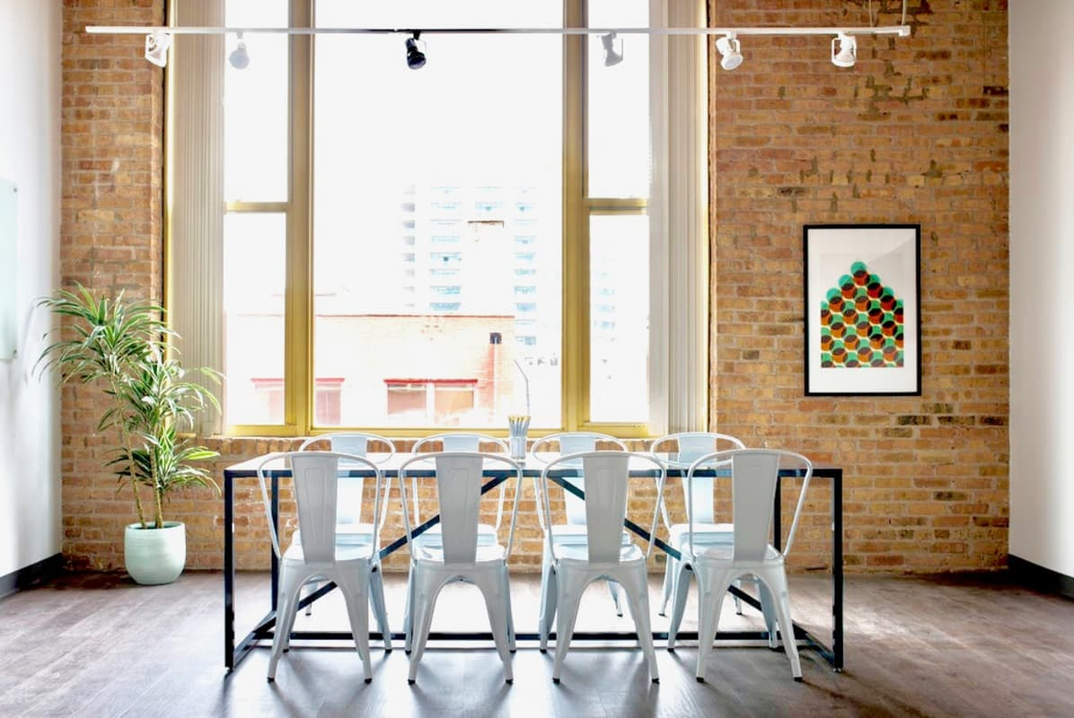 interview space at 343 W. Erie ,Chicago