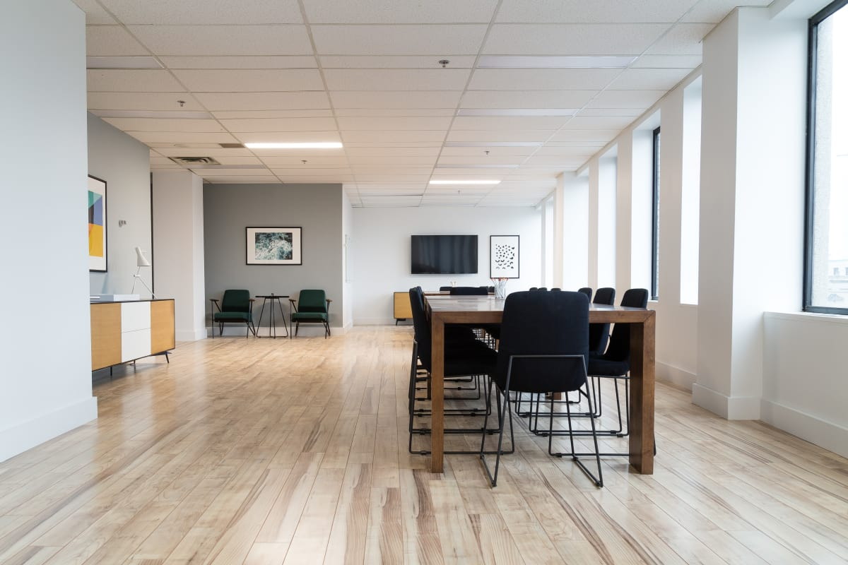 collaboration space at 555 Boulevard René-Levesque O. ,Montreal