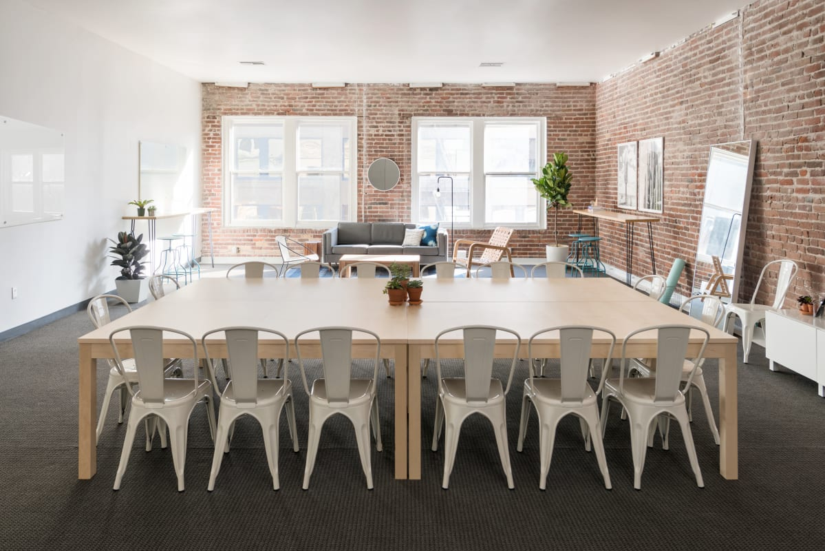 workshop space at 594 Howard Street ,San Francisco