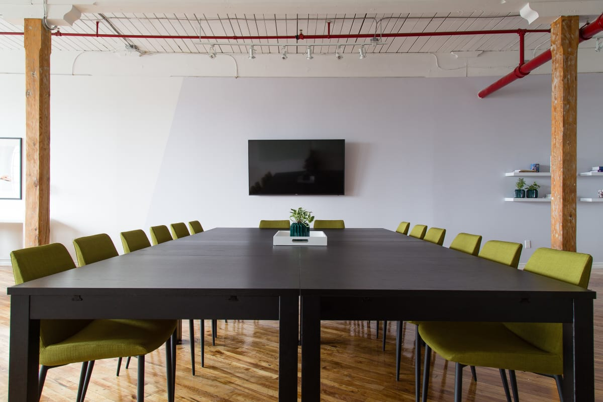 collaboration space at 642 Rue de Courcelle ,Montreal