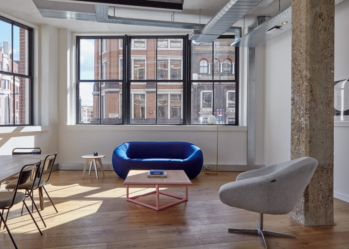 therapy space at 80 Clerkenwell Road, Clerkenwell ,London