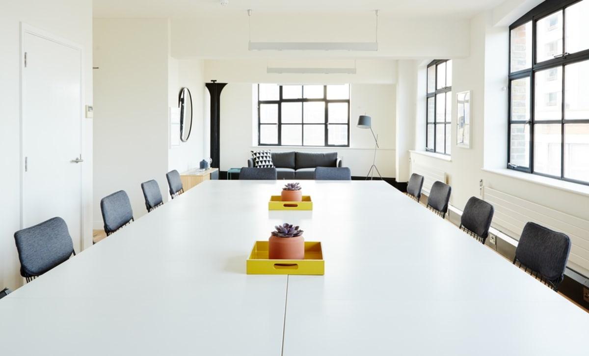 workshop space at 1 Dufferin Street, Shoreditch ,London