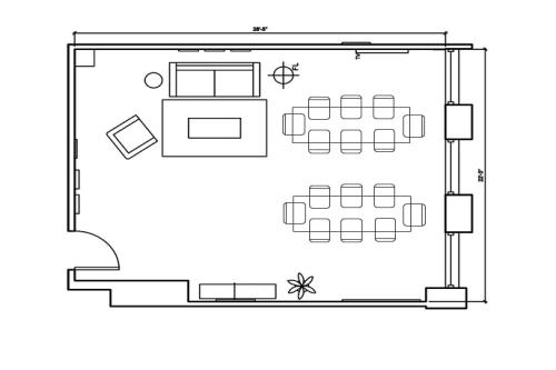 1 N. LaSalle, 24th Floor, Suite 2425, Room B #7