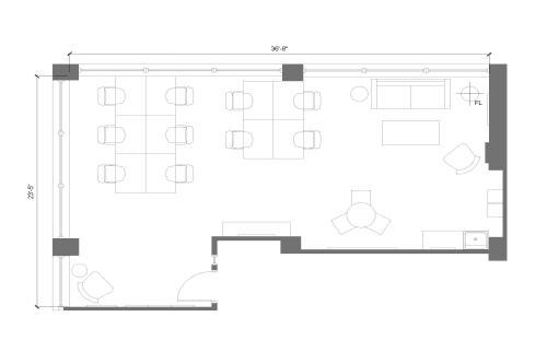 225 Friend Street, 8th Floor, Suite 805, Room 1 #9