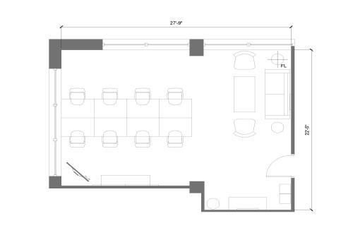 225 Friend Street, 8th Floor, Suite 805, Room 3 #8