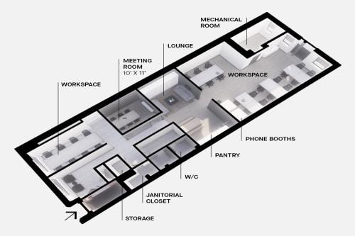 495 Adelaide St. West, 1st Floor #13