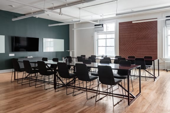 Office space fully furnished and equipped located at 100 Crosby Street, #502, Soho.