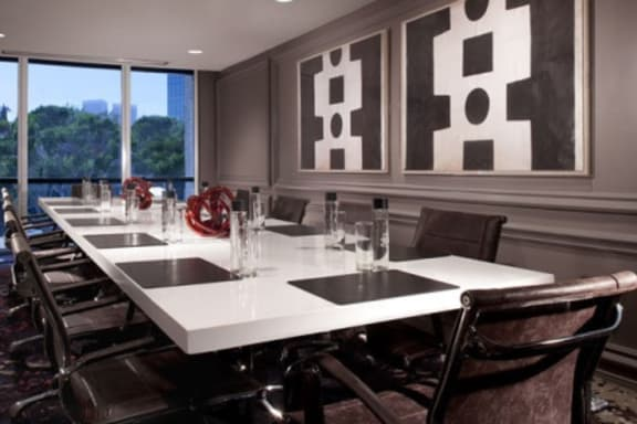Workspace fully furnished and equipped located at 1150 South Beverly Drive, #Santa Monica Boardroom, Los Angeles.