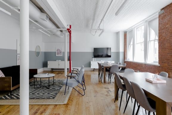 Office space fully furnished and equipped located at 122 Hudson, #1, Soho.