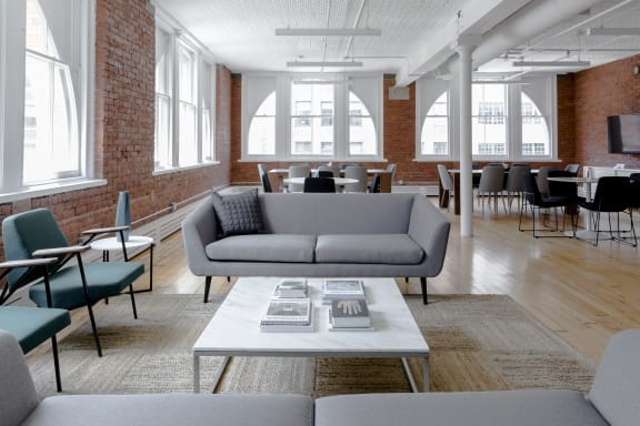 Office space fully furnished and equipped located at 122 Hudson, #2, TribeCa.