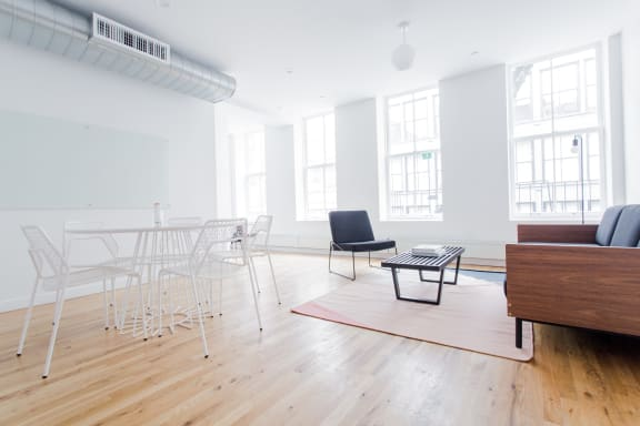 Workspace fully furnished and equipped located at 138 Wooster Street, #1, New York City.
