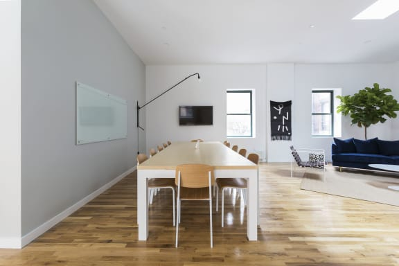 Workspace fully furnished and equipped located at 138 Wooster Street, #3, New York City.