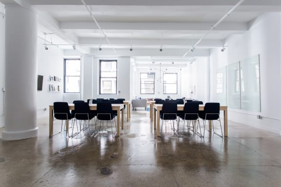 Office space fully furnished and equipped located at 153 West 27th Street, #604, Chelsea.