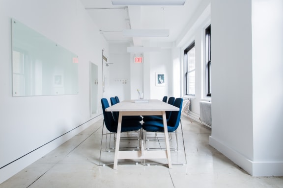 Office space fully furnished and equipped located at 16 Court Street, #1018, Brooklyn.