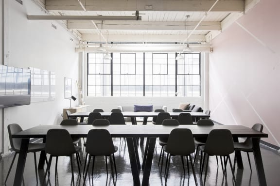 Office space fully furnished and equipped located at 171 East Liberty St., #264, Liberty Village.