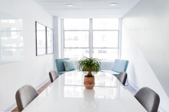 Office space fully furnished and equipped located at 1730 M Street NW, #409-1, Dupont Circle.