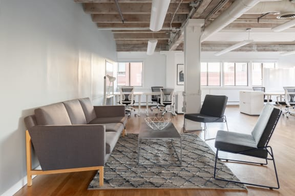 Office space fully furnished and equipped located at 179 South Street, #2, Chinatown.