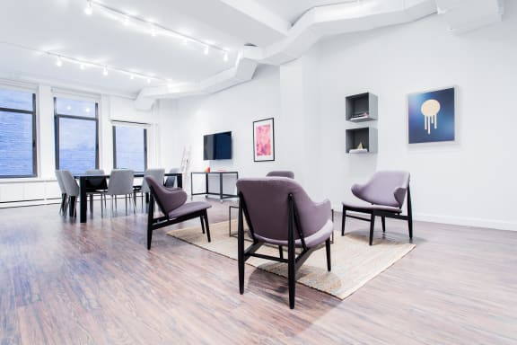 Office space fully furnished and equipped located at 2 West 45th Street, #1401-B, Midtown.