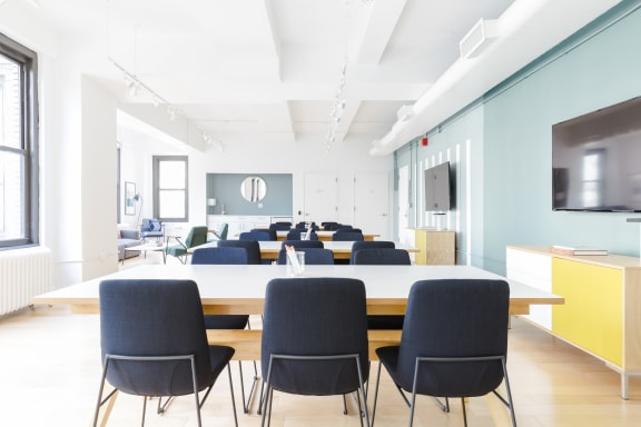 Office space fully furnished and equipped located at 2 West 46th Street, #1404, Midtown.