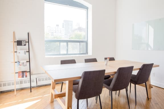 Workspace fully furnished and equipped located at 20 Maud St., #301-1, Toronto.