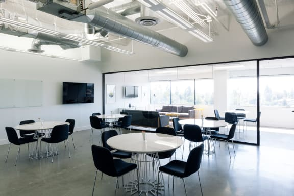 Workspace fully furnished and equipped located at 200 Corporate Pointe, #490-B, Los Angeles.