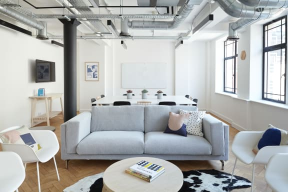 Workspace fully furnished and equipped located at 21 Poland Street, Soho, #1, London.