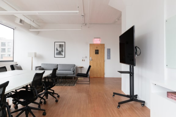 Office space fully furnished and equipped located at 225 Friend Street, #805-3, West End.