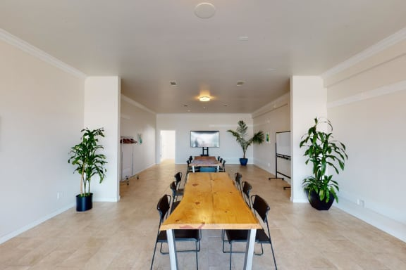 Workspace fully furnished and equipped located at 269 Jefferson Street, San Francisco.