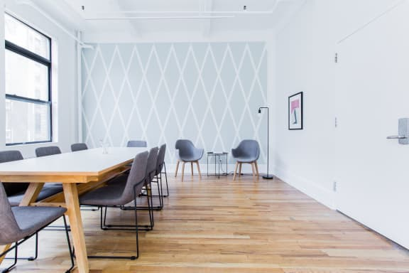 Office space fully furnished and equipped located at 27 West 24th Street, #700A, Chelsea.