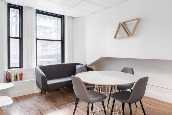 Office space fully furnished and equipped located at 276 Fifth Avenue, #704-H, Flatiron/Union Square.
