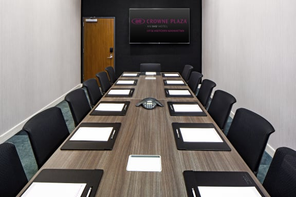 Workspace fully furnished and equipped located at 320 West 36th Street, #The Midtown Meeting Room, New York City.