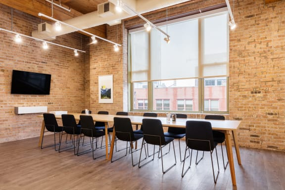Workspace fully furnished and equipped located at 343 W. Erie, #310-1, Chicago.
