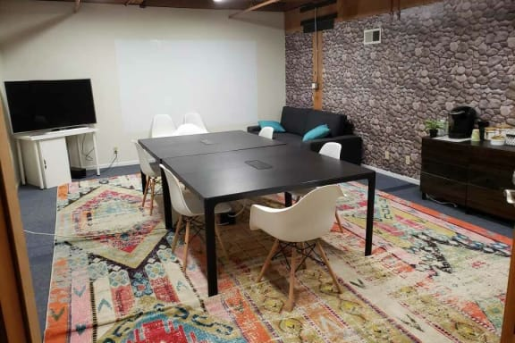Workspace fully furnished and equipped located at 350 Townsend Street, #220, San Francisco.