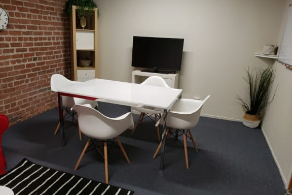 Workspace fully furnished and equipped located at 350 Townsend Street, #280, San Francisco.