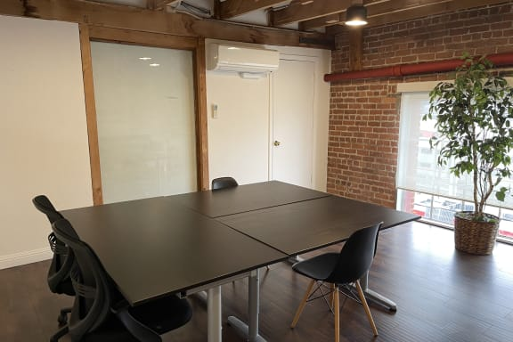 Workspace fully furnished and equipped located at 350 Townsend Street, #421, San Francisco.