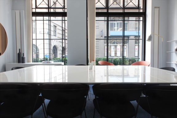 Workspace fully furnished and equipped located at 36-38 Cornhill, Bank, London.