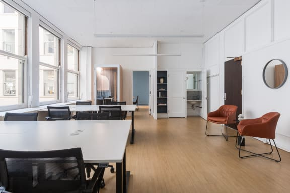 Office space fully furnished and equipped located at 465 California St., #1290, Financial District.