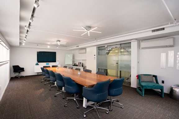 Office space fully furnished and equipped located at 530 7th Avenue, #The Vault, New York City.
